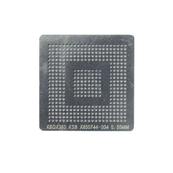 Stencil Xbox 360 Slim Corona Ksb X850744 Bga Calor Direto Reballing