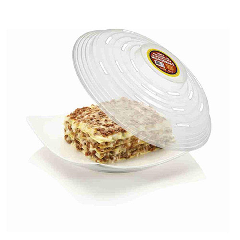 Tampa Protetora Alimentos Plástico Microondas Transparente Cobertura - 068