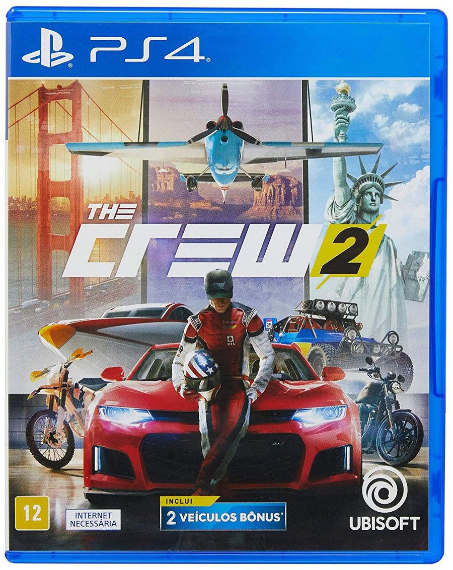 The Crew 2 Mídia Física Original PS4 Lacrado