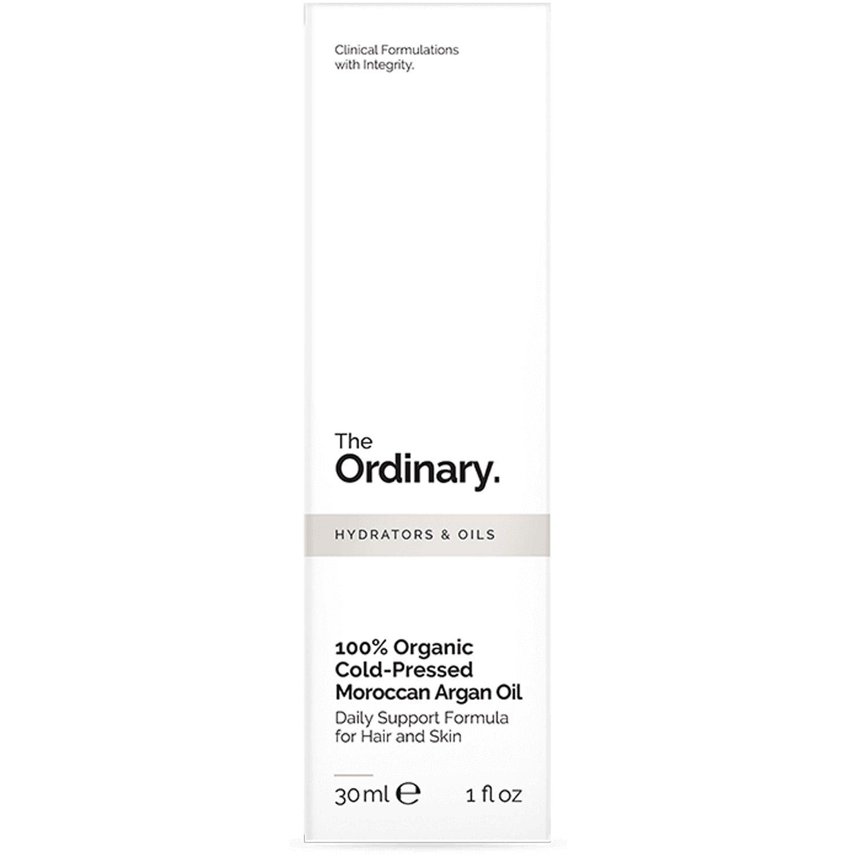 The Ordinary 100% Organic Cold-Pressed Moroccan Argan Oil 30ml Importado Óleo de Argan Cabelo Pele