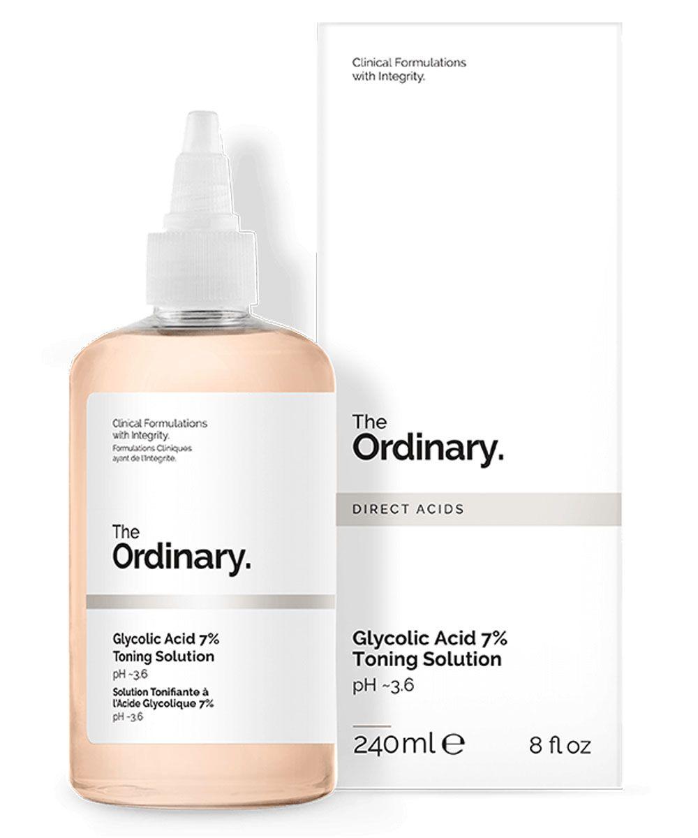 The Ordinary Glycolic Acid 7% Toning Solution 240ml Tratamento