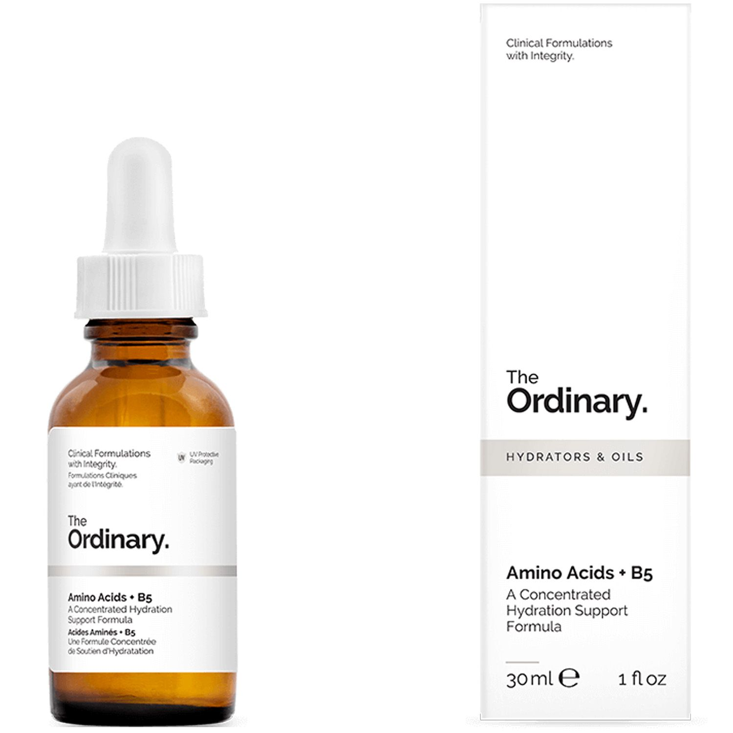 The Ordinary Amino Acids + B5 30ml Aminoácidos Vitamina Importado Regenerador Reparador Facial