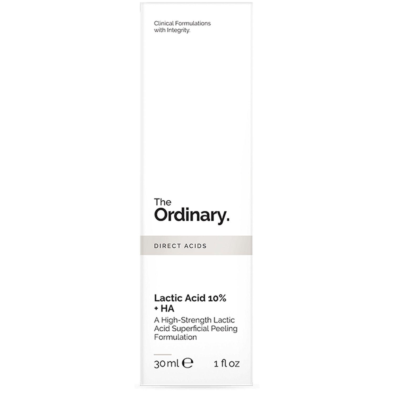 The Ordinary Lactic Acid 10% + HA 30ml Ácido Láctico Importado Lático Esfoliação Esfoliante