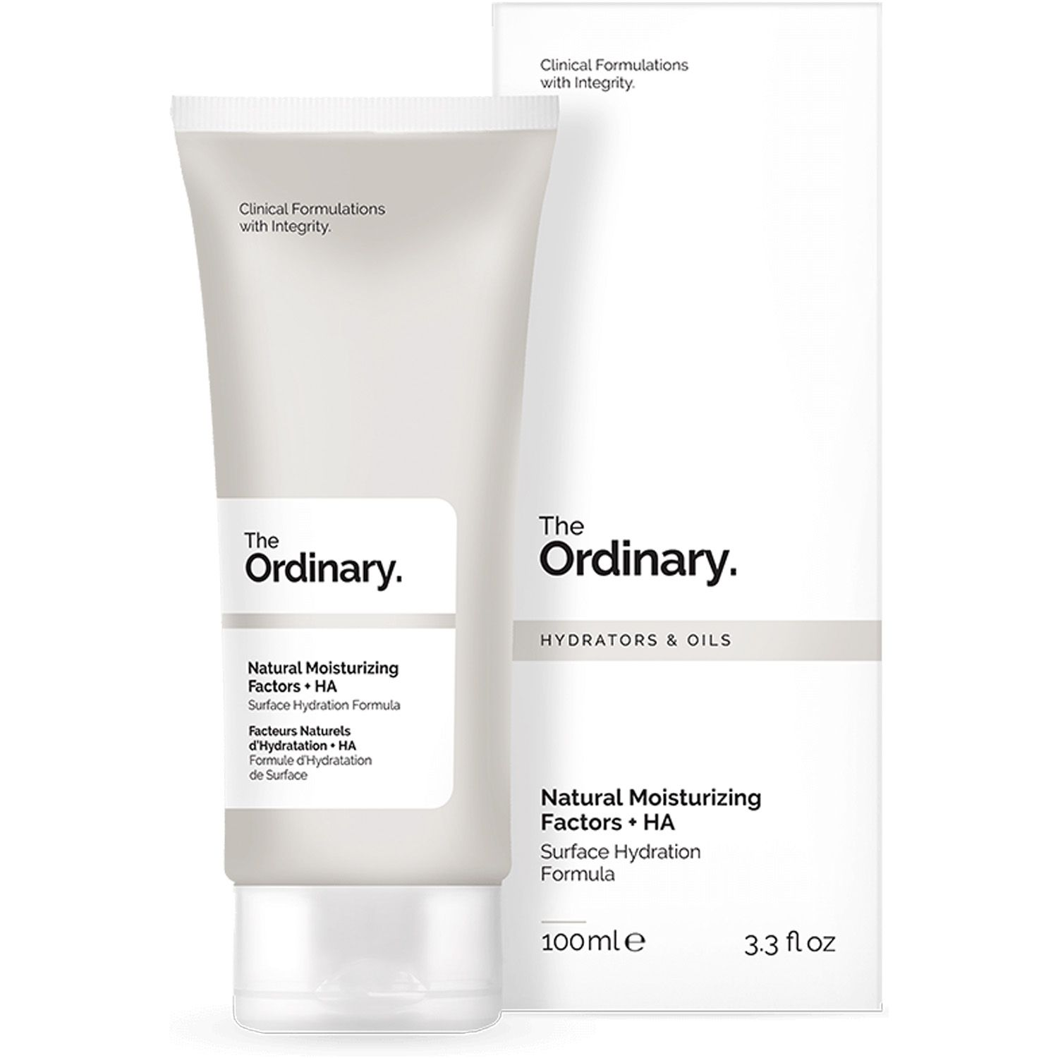The Ordinary Natural Moisturizing Factors + HA 100ml Fatores Hidratantes Naturais Importado