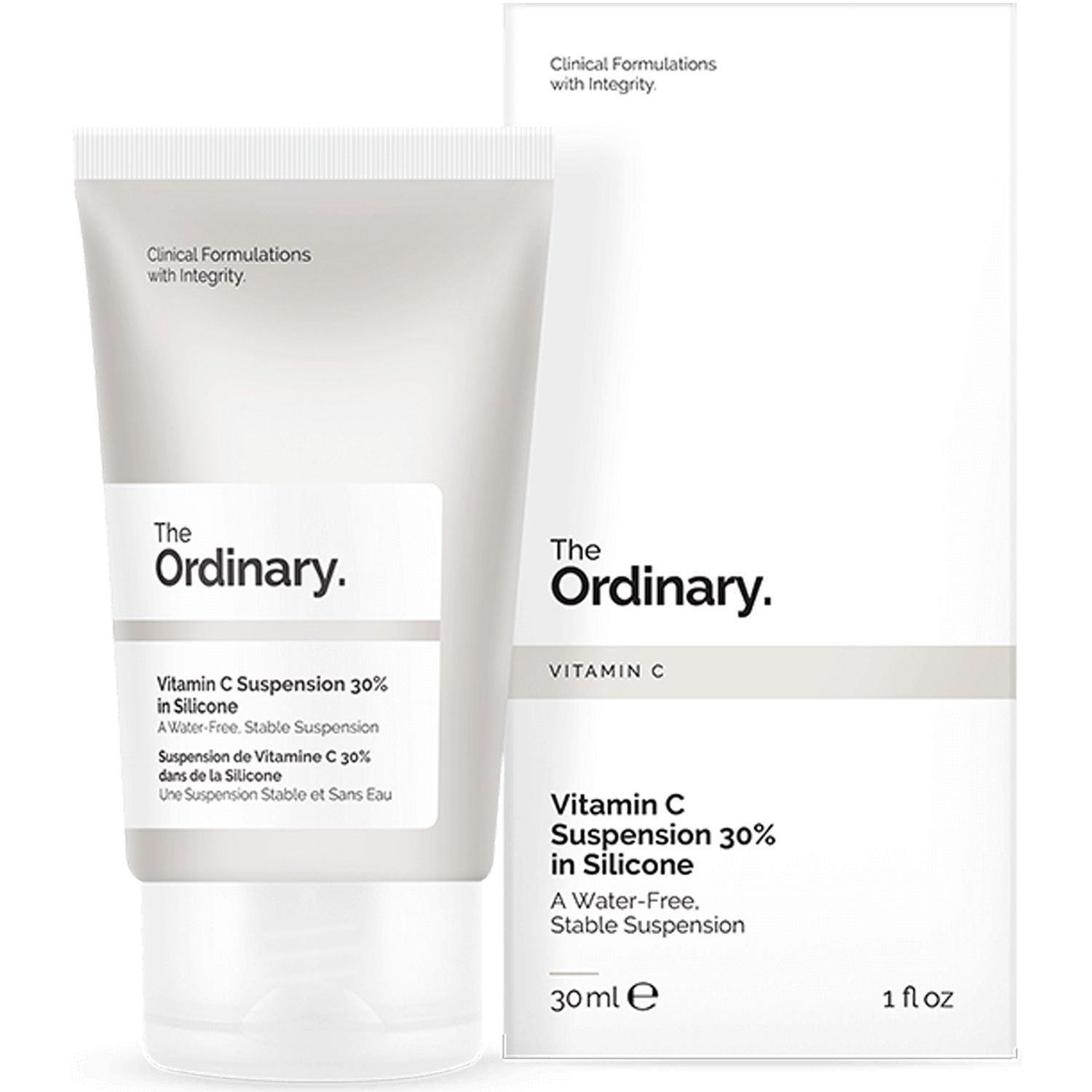 The Ordinary Vitamin C Suspension 30% in Silicone 30ml Suspensão Vitamina C Importado