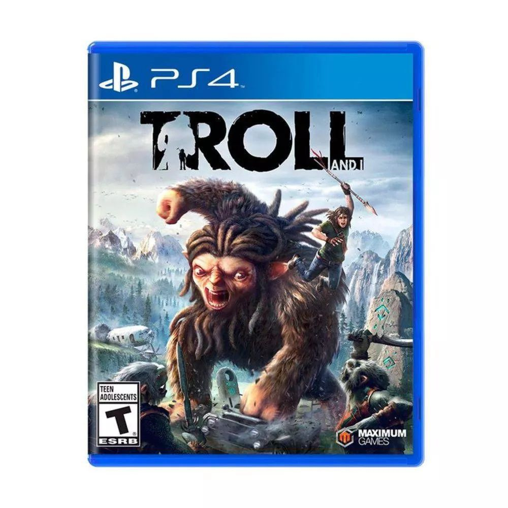 Troll and I Mídia Física Original PS4 Lacrado