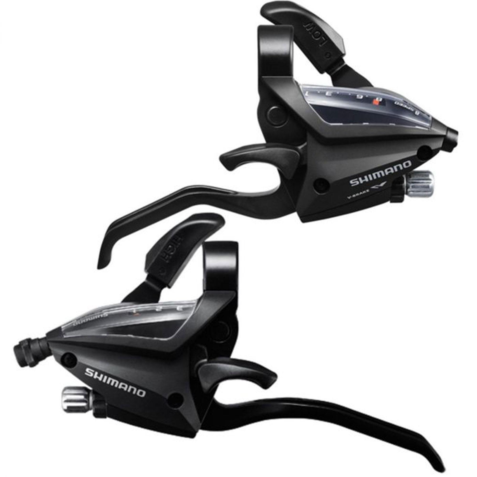 Alavanca de Cambio Shimano Rapid Fire ST-EF500 3x7v