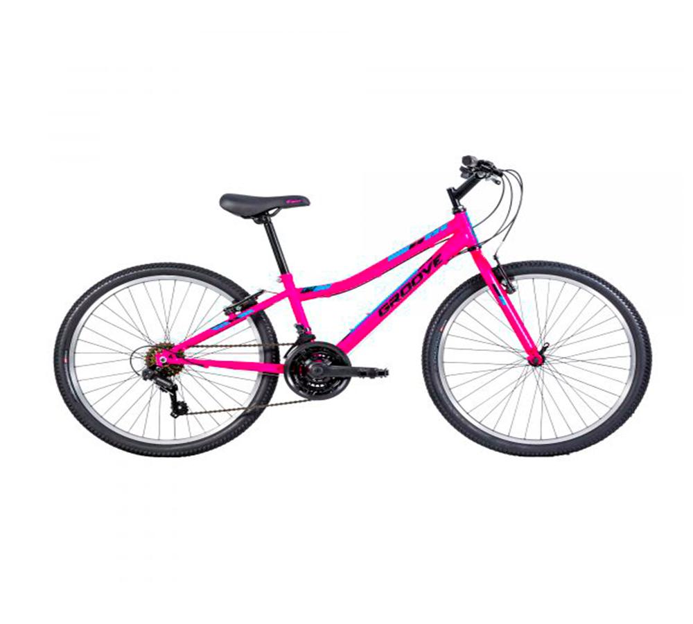 Bicicleta Groove Indie Aro 24 21v Menina a Partir 8 Anos
