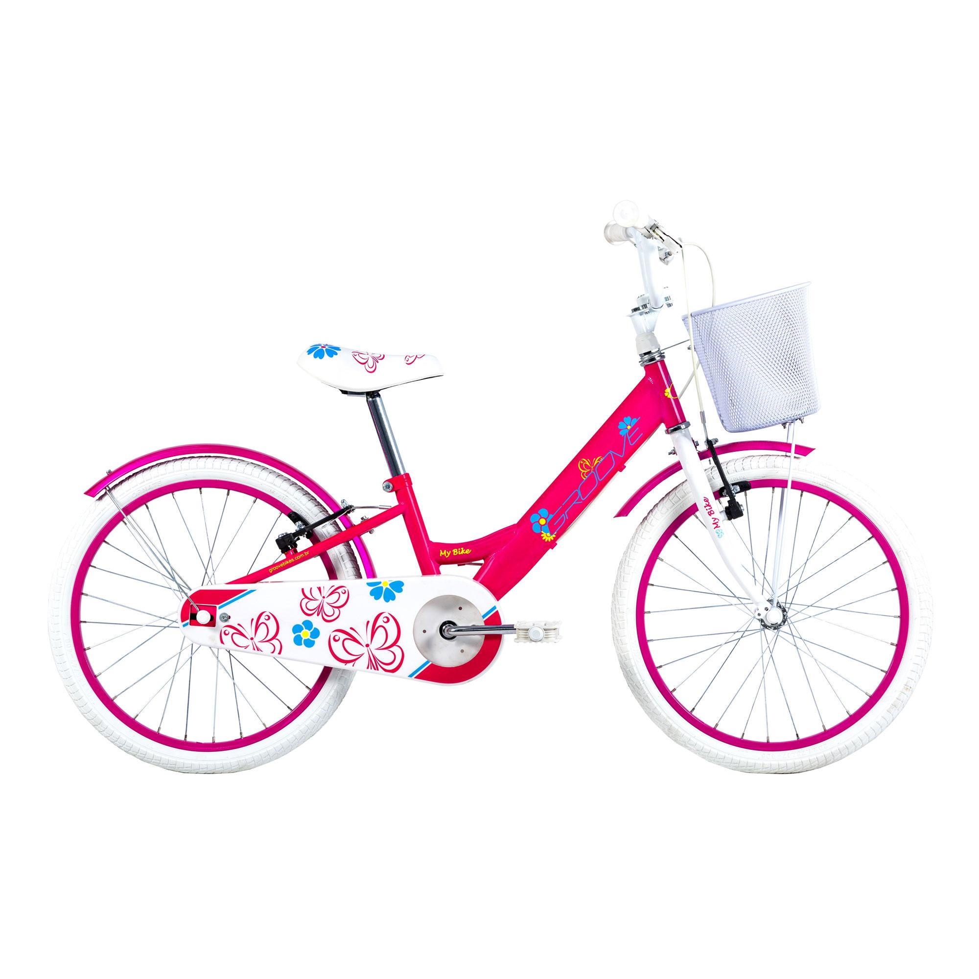 Bicicleta Groove Infantil Aro 20 My Bike Feminina