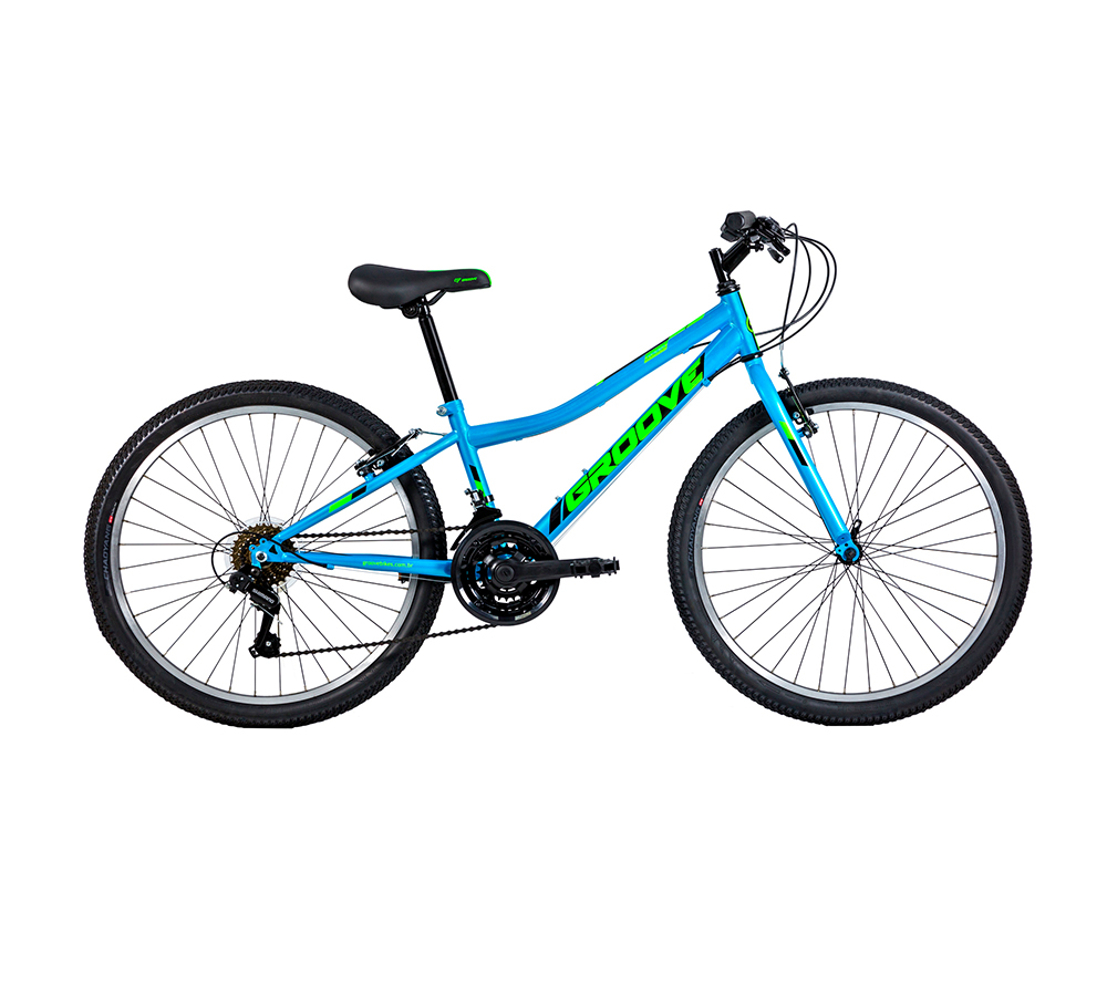 Bicicleta Groove Ragga Aro 24 Masculina Aço 21V