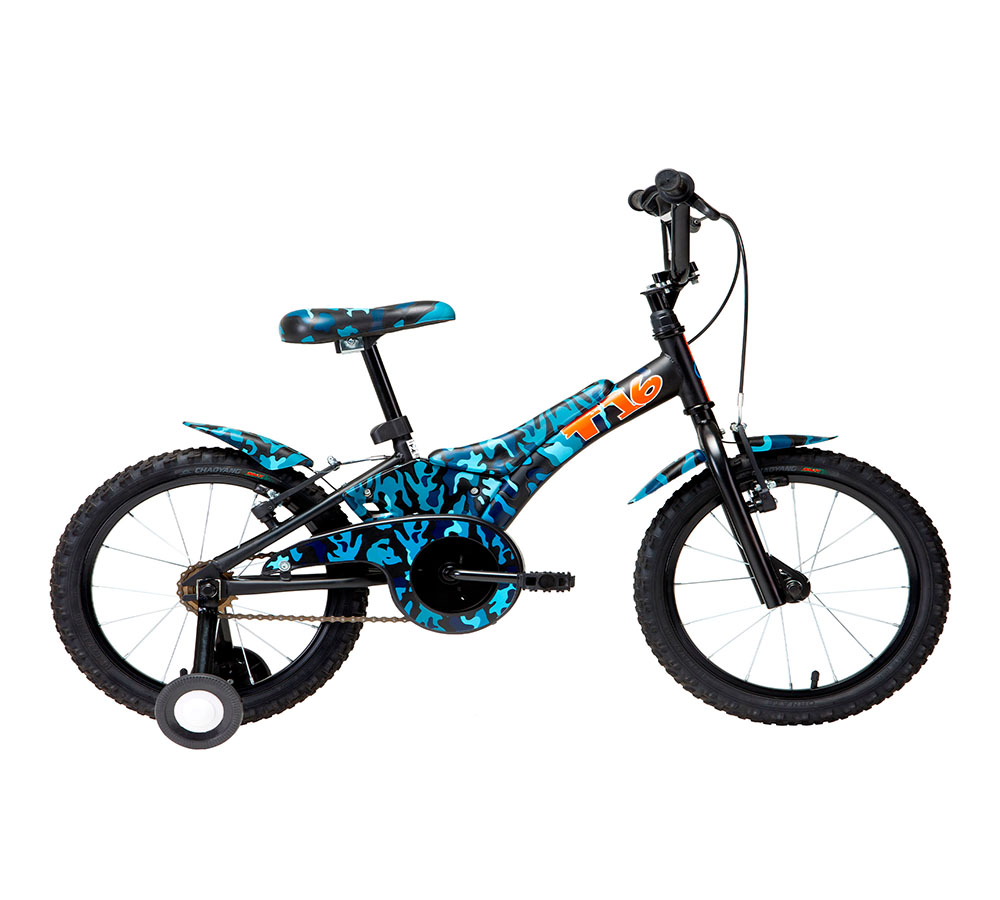 Bicicleta Infantil Groove Camuflada Aro 16
