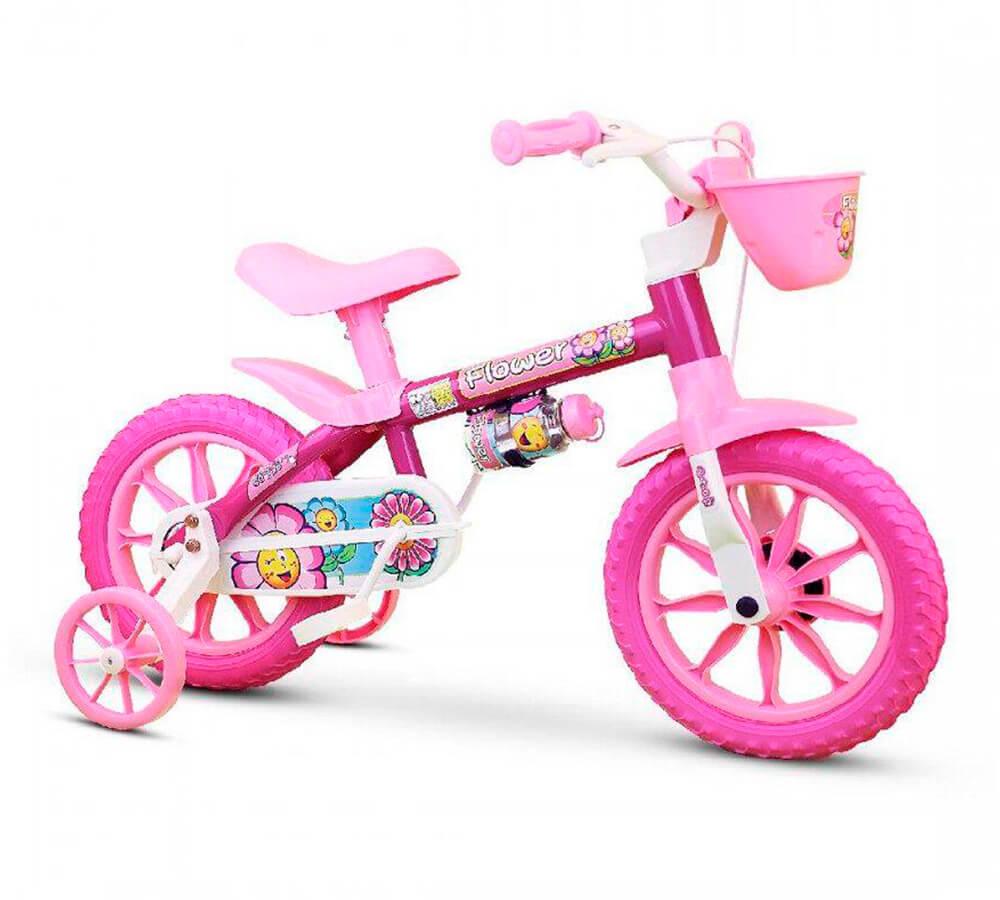 Bicicleta Infantil Nathor Flower Aro 12
