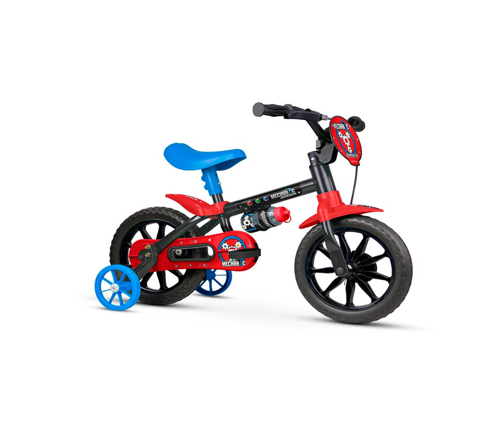 Bicicleta Infantil Nathor Mechanic Aro 12