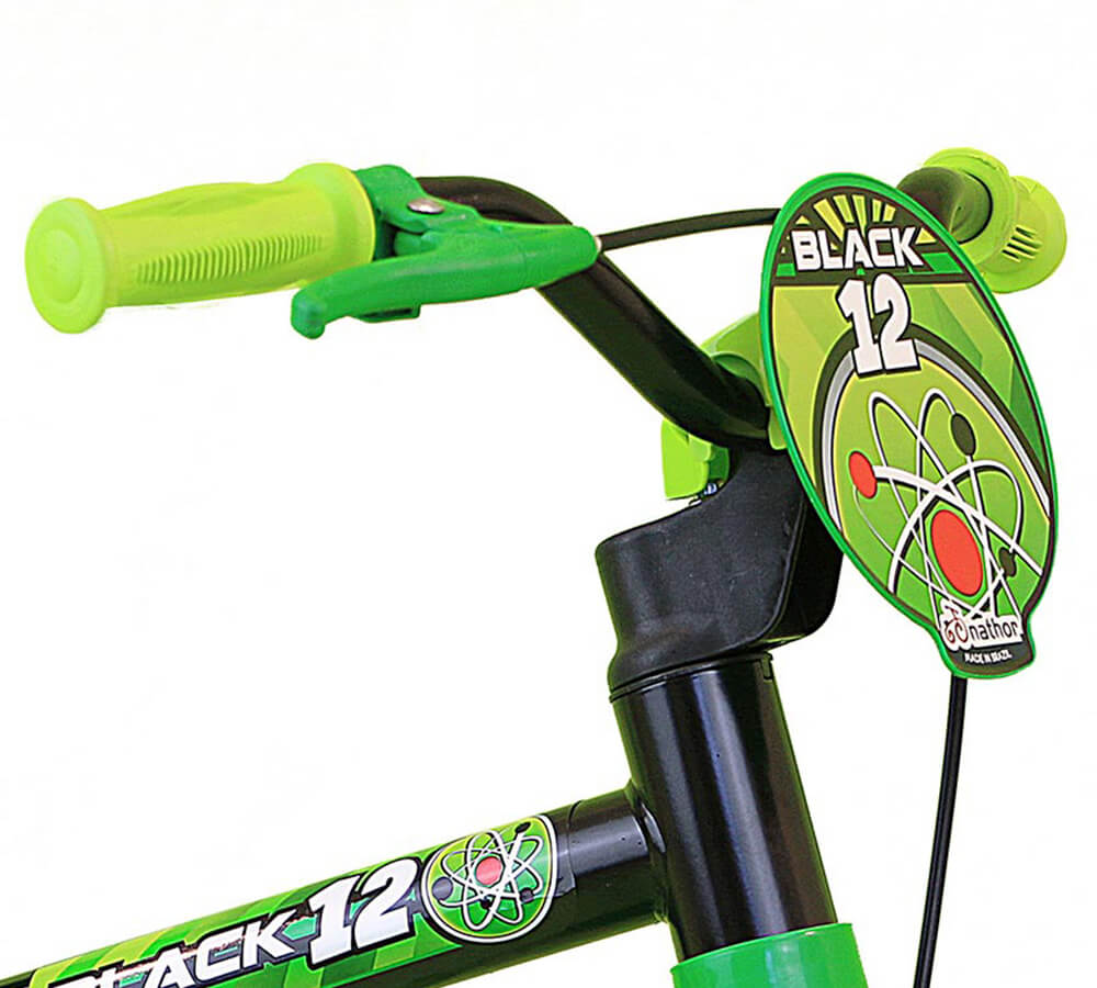 Bicicleta Nathor Black 12