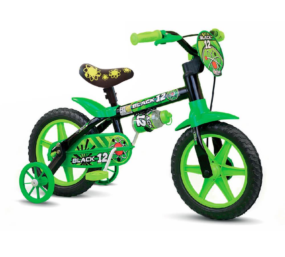 Bicicleta Nathor Black 12 PU