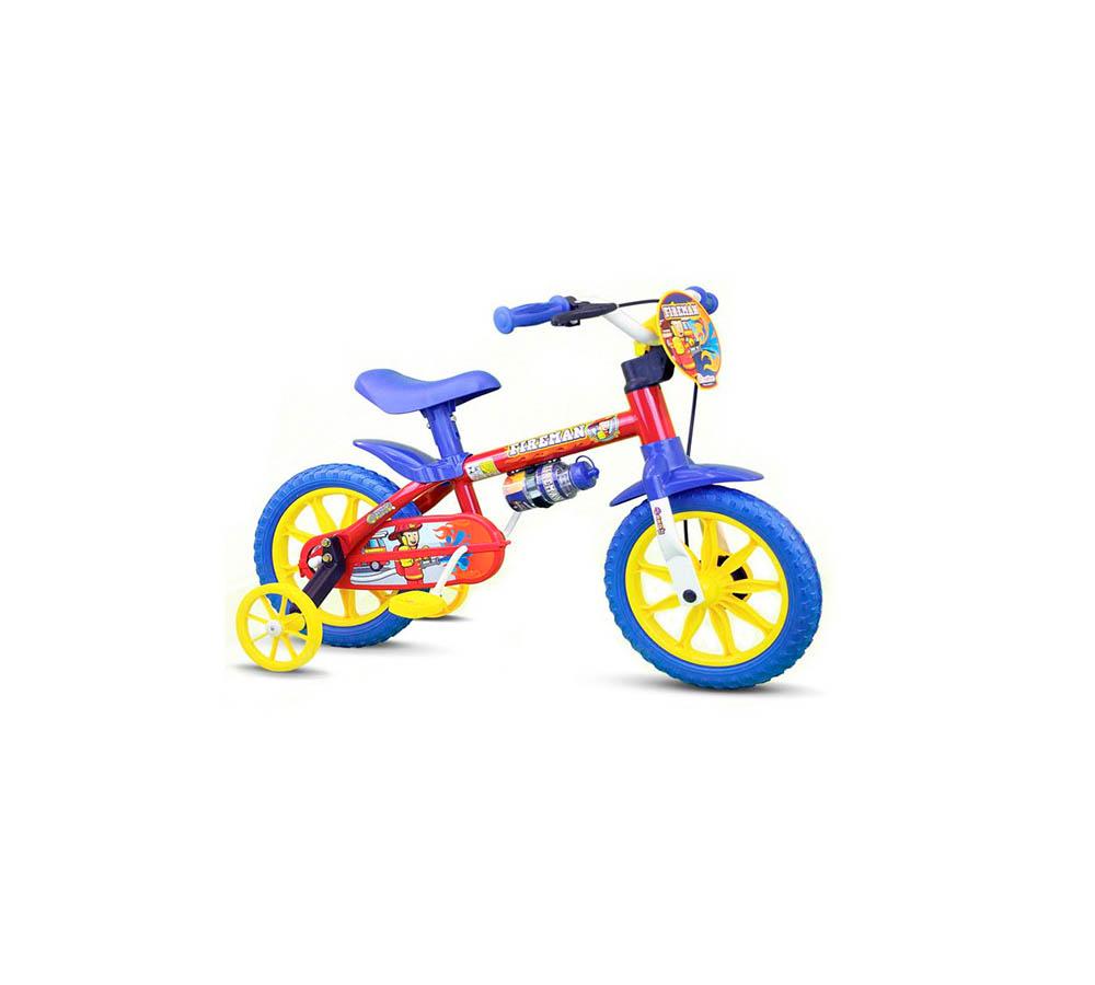 Bicicleta Nathor Infantil Fireman 12