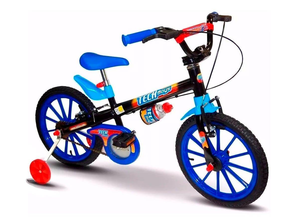 Bicicleta Nathor Tech Boys Aro 16