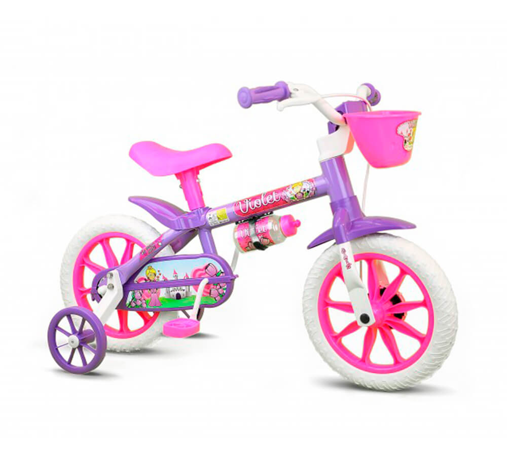 Bicicleta Nathor Violet 12