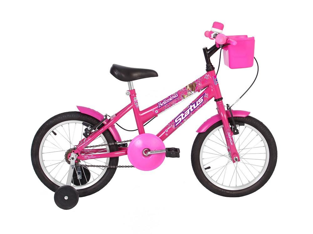 Bicicleta Status Infantil Belissima Aro 16