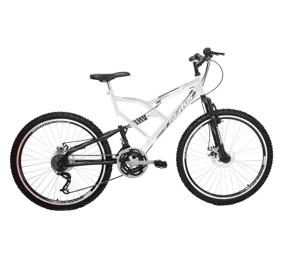 Bicicleta Status Suspensão Full Aro 26 Freio a Disco