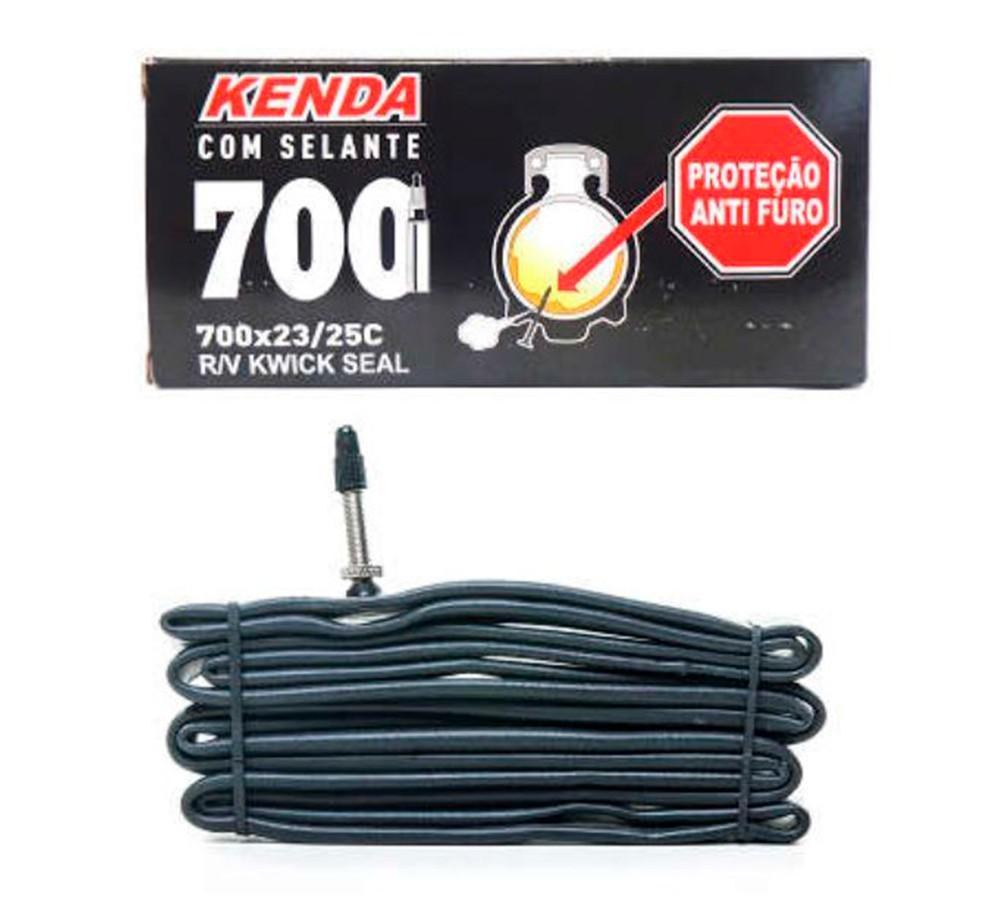 Camara Kenda Kwick Seal Presta Com Selante 700x23/25c 33mm