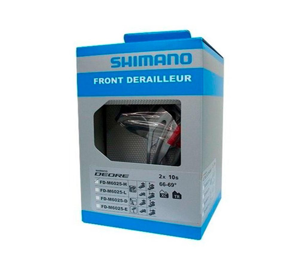 Cambio Dianteiro Shimano Deore FD-M6025-H Dual Pull 34.9mm