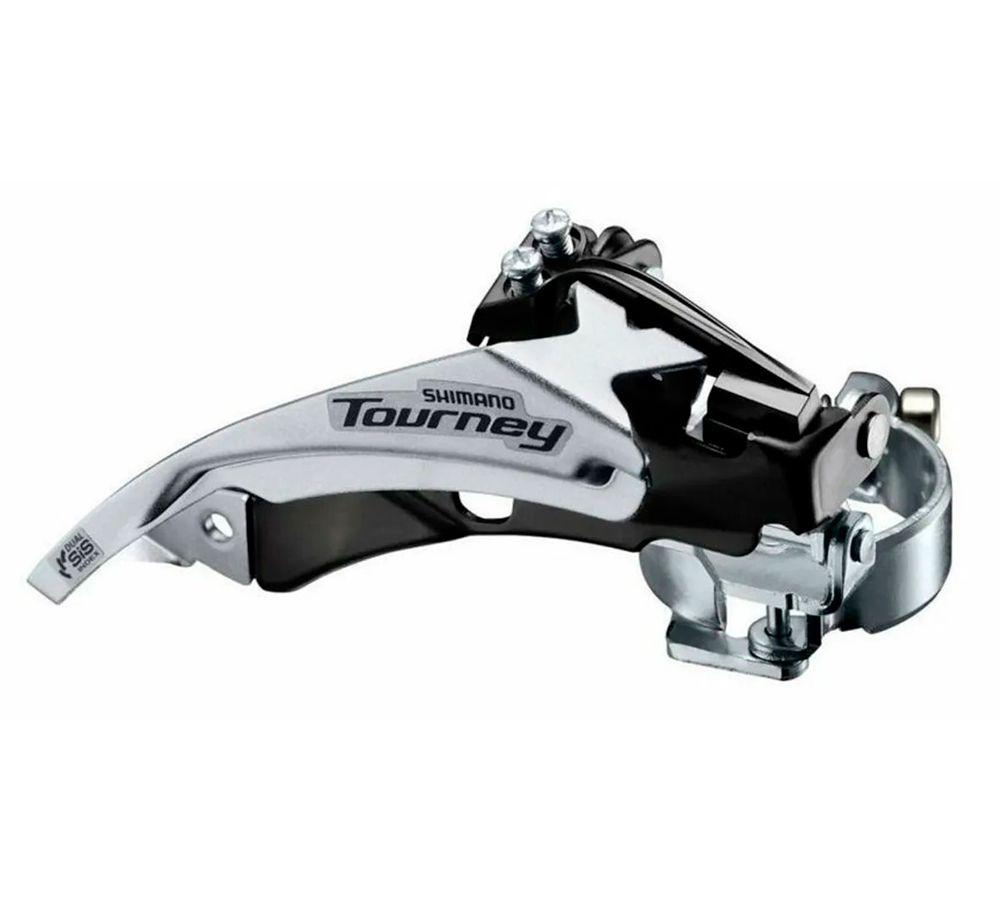 Cambio Dianteiro Shimano Tourney FD-TY500 P/42D Dual 34.9mm