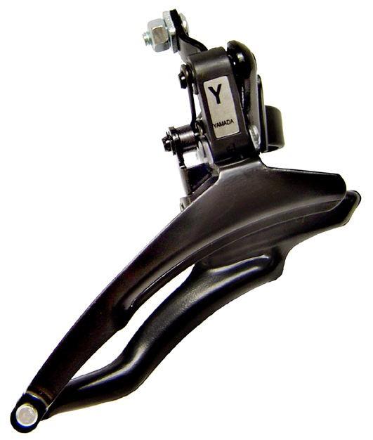 Câmbio Dianteiro Yamada 28.6mm 3V Puxa Cabo por Baixo