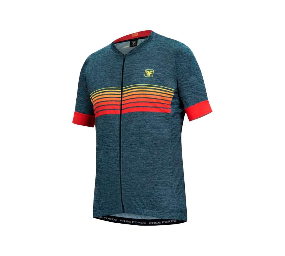 Camisa de Ciclismo Free Force Sport Sunshine Masculina