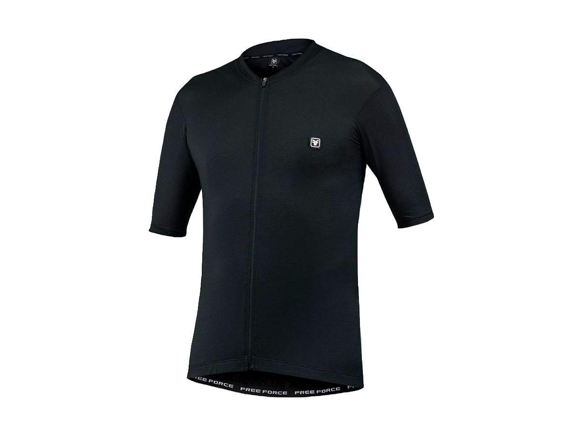 Camisa para Ciclismo Free Force Classic Black