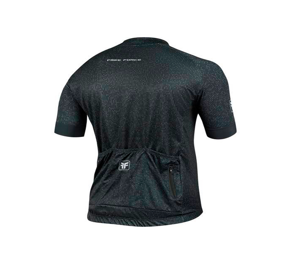 Camisa Ciclismo Free Force Sport Blackout Masculina