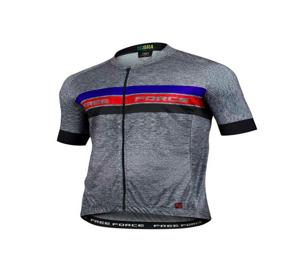 Camisa Ciclismo Free Force Sport Cast Masculina