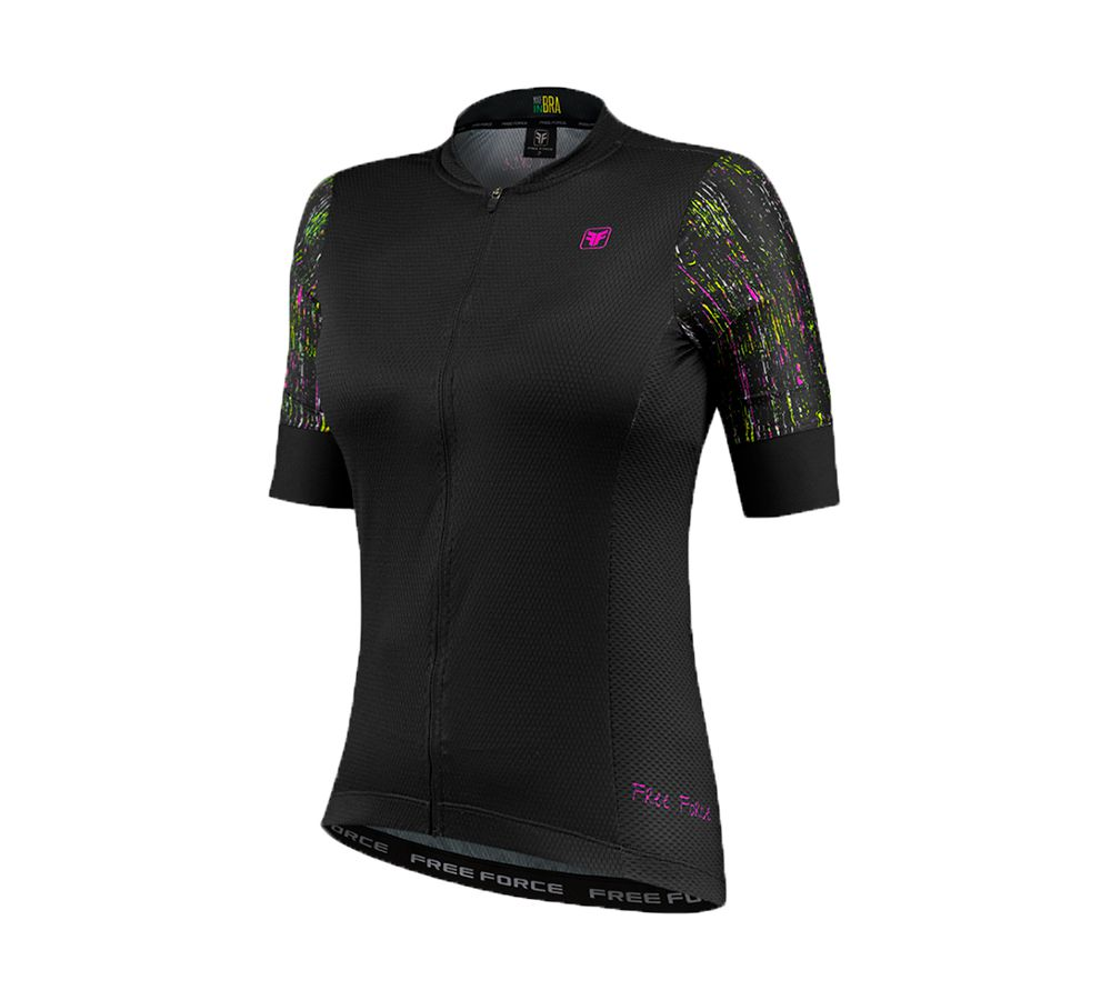 Camisa Ciclismo Free Force Sport Draft Feminina