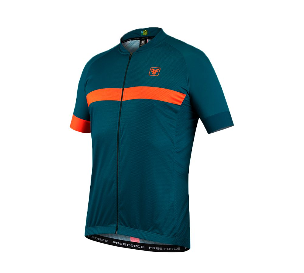 Camisa Masculina Ciclismo Free Force Sport Ribbon