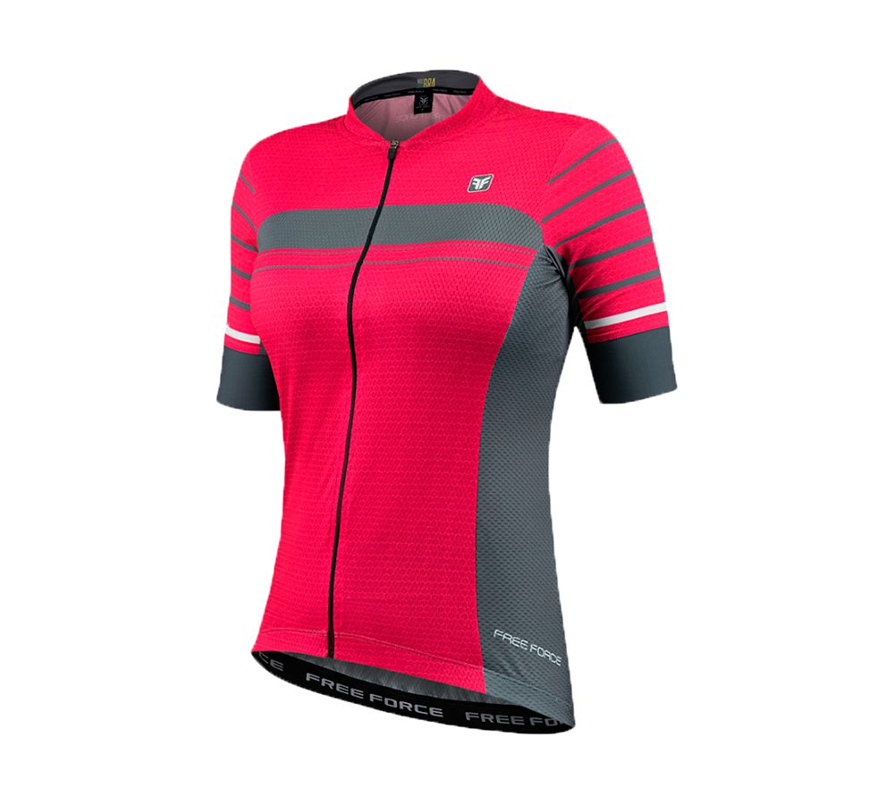 Camisa Feminina Ciclismo Free Force Sport Trait