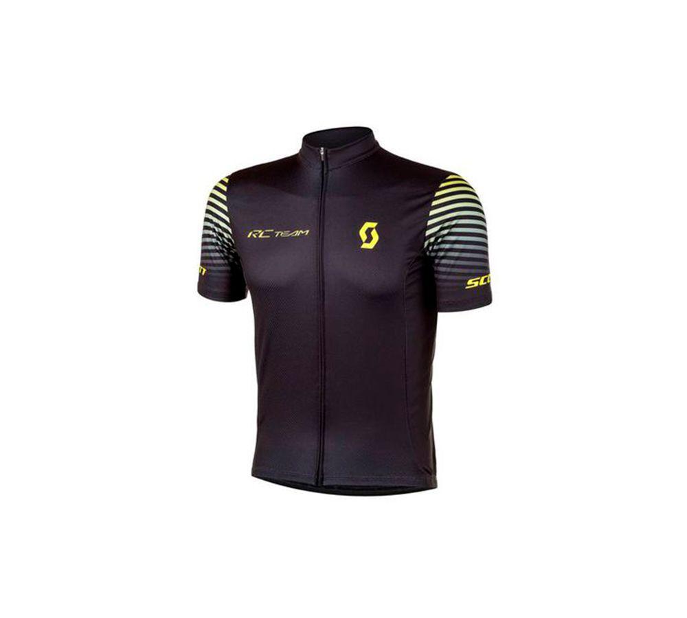 Camisa Cicliscmo Masculina Scott Rc Team 10 2020 Manga Curta