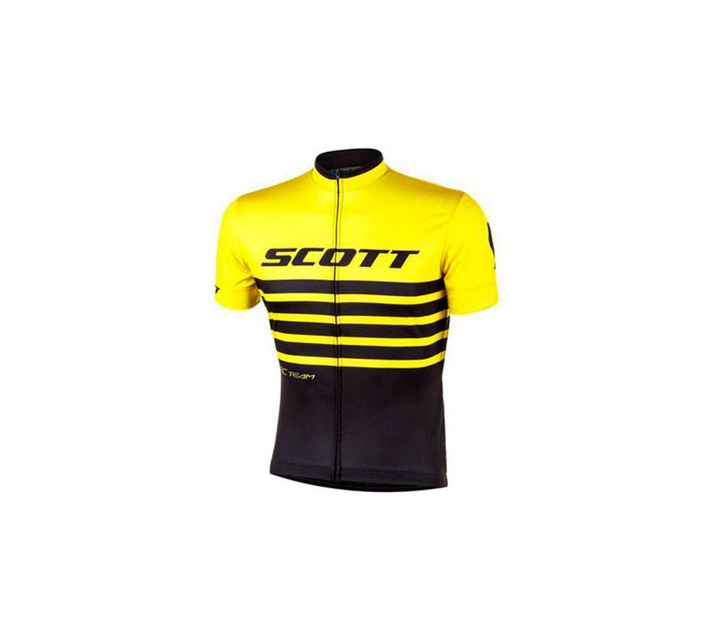 Camisa Masculina  Scott Rc Team 20 2020 Manga Curta