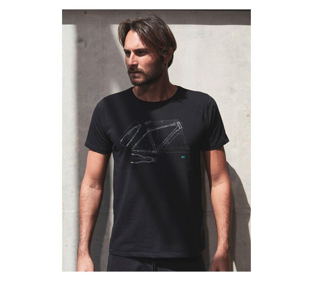 Camiseta Sense Casual Wear Projeto Quadro