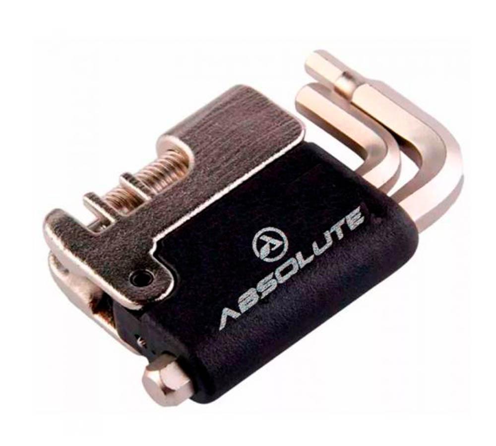 Jogo Ferramenta Absolute Bike YC285 5 Funções Chave Corrente
