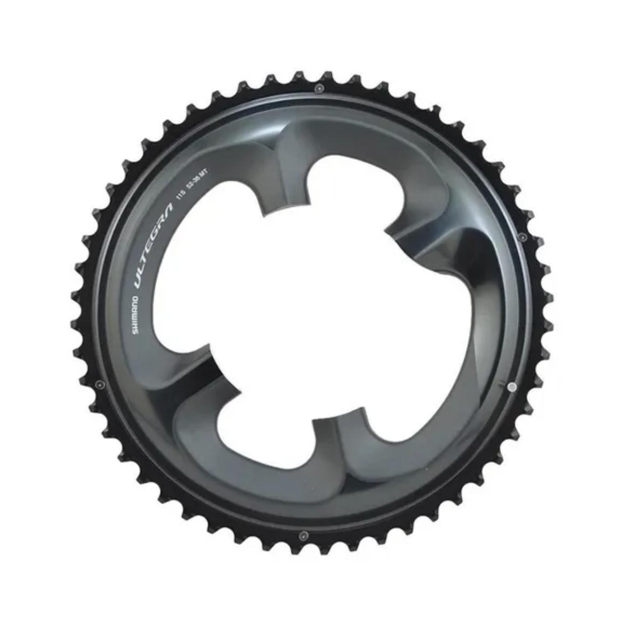 Coroa Engrenagem Diant. Shimano Ultegra FC-R8000 52D 52/36D