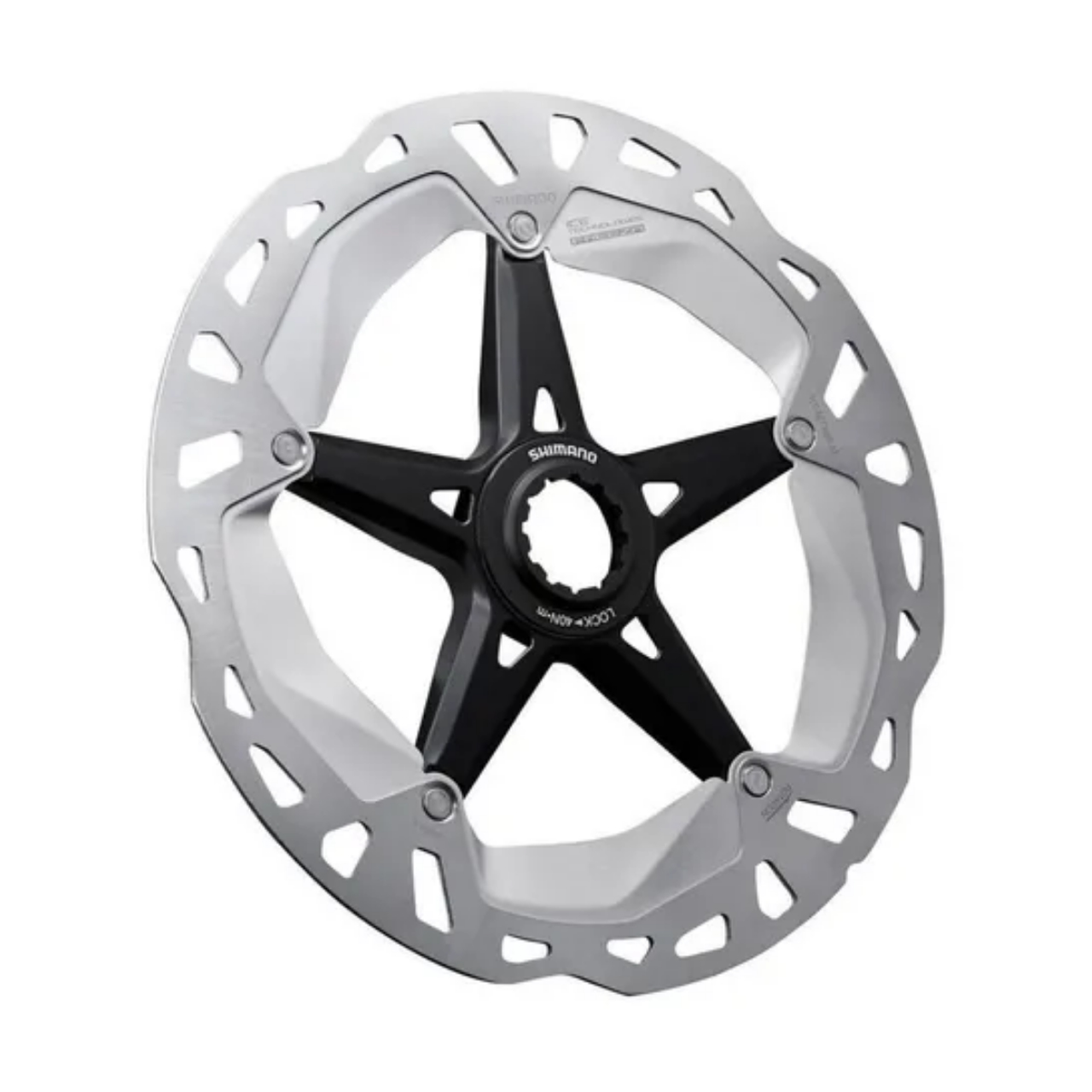 Disco Rotor Shimano RT-MT800 160mm Ice Tech Center Look