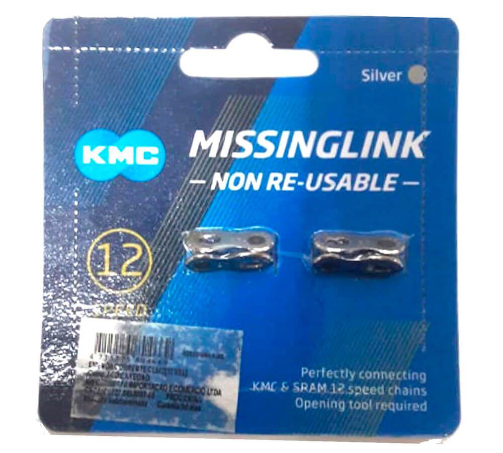 Emenda de Corrente KMC 12v. X12 CL552 Card com 02 Unidades