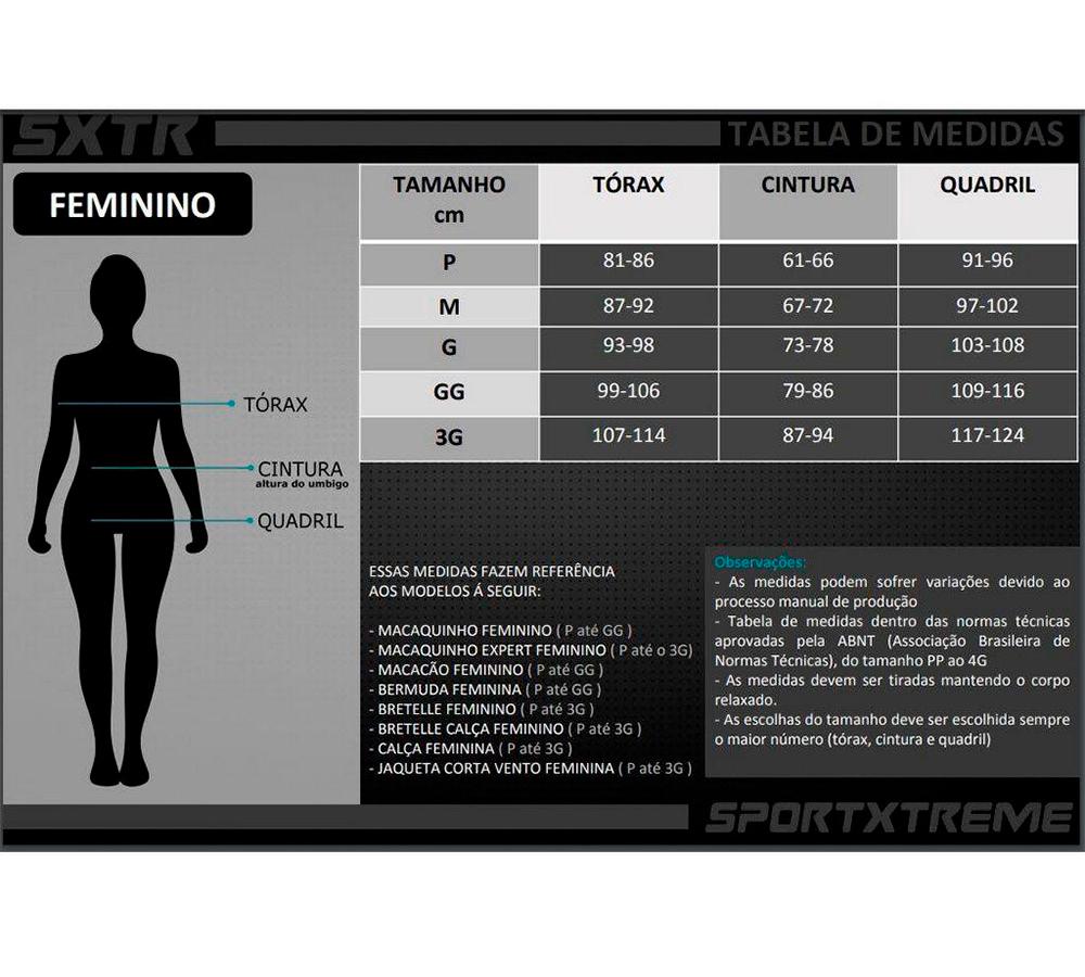 Jaqueta Corta Vento Sport Xtreme Confort Feminina