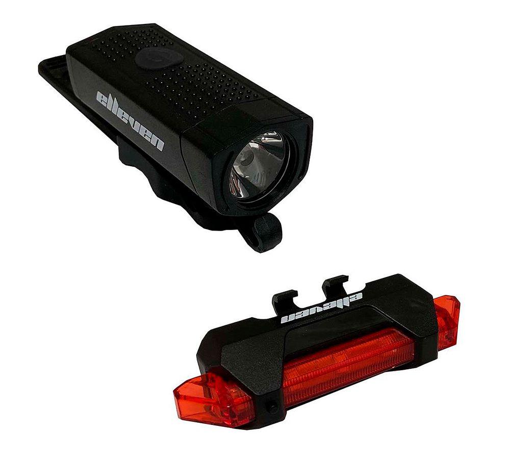 Kit Farol e Sinalizador Elleven Power Light USB 13633