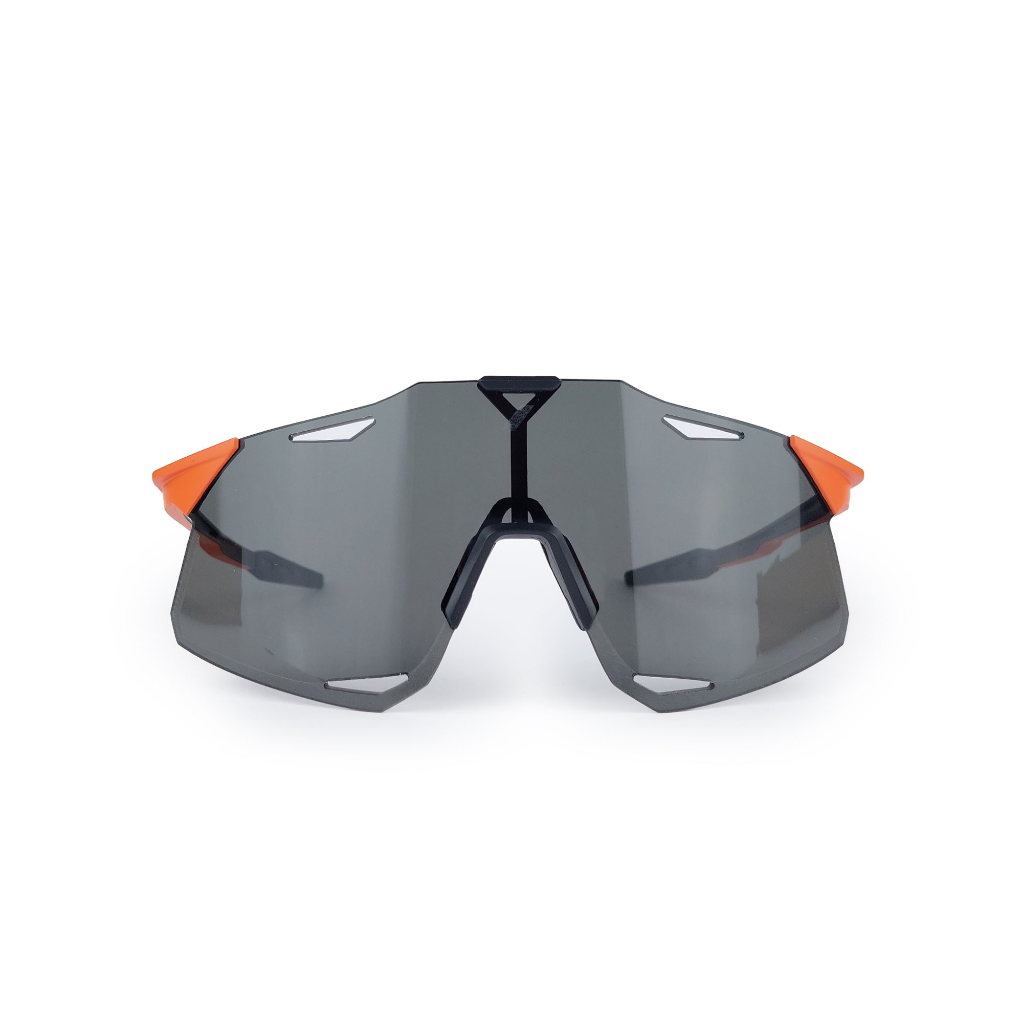 Óculos 100% Hypercraft Fumê 2 Lentes Ciclismo