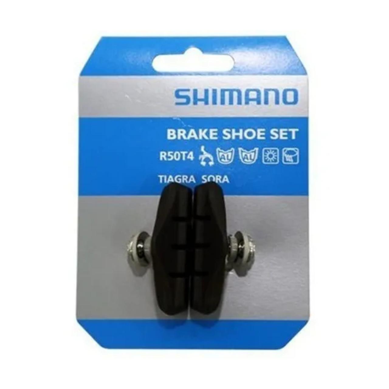 Patins Sapata de Freio Shimano BR-2400 R50T4 PAR