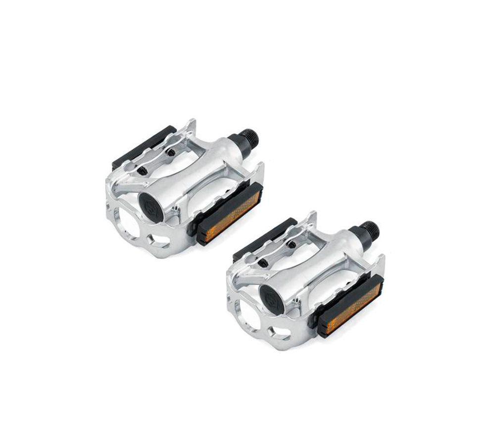 Pedal Metalciclo MTB Alumínio 1/2 c/ Esfera Rosca Fina
