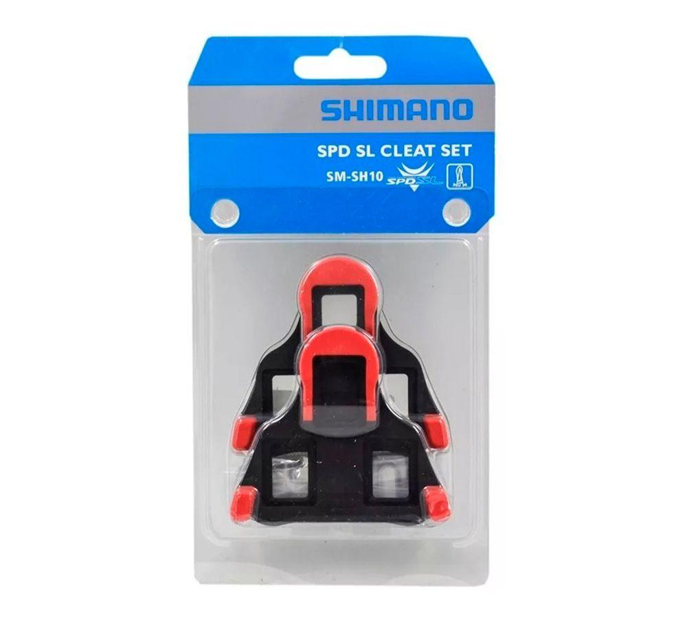 Taquinho Shimano Speed Fixo SM-SH10 Vermelho