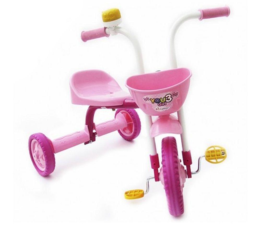 Triciclo Nathor Infantil You 3 Girl Alumínio