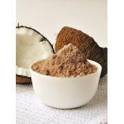 Farinha de Coco Escura 100% Pura Ideal Dieta Low Carb Produto Natural A Granel 500g